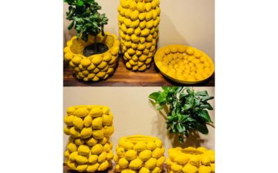 Mediterrane Zitronengefässe