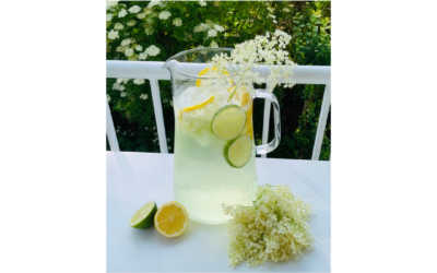 Holunderblüten Limonade – Erfrischend-